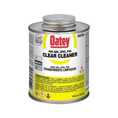 16 oz. PVC Clear Cleaner