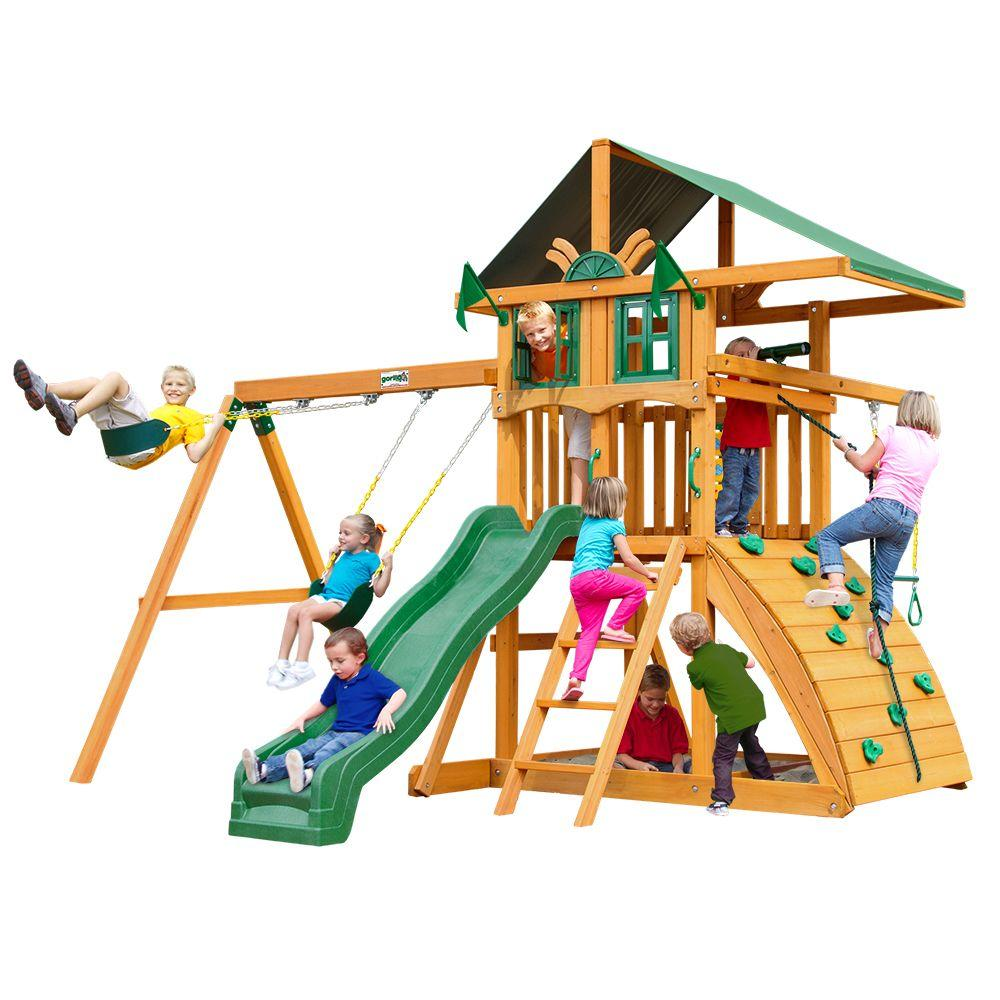 Gorilla Playsets Encore Cedar Playset