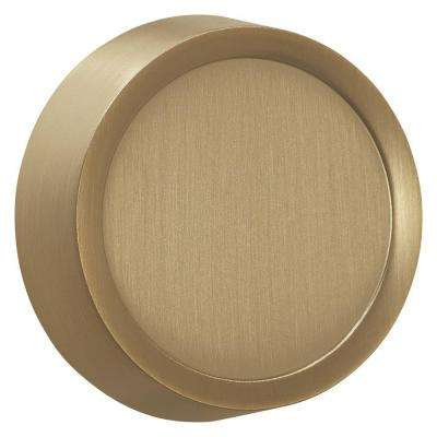 Dimmer Knob Wall Plate, Brushed Bronze
