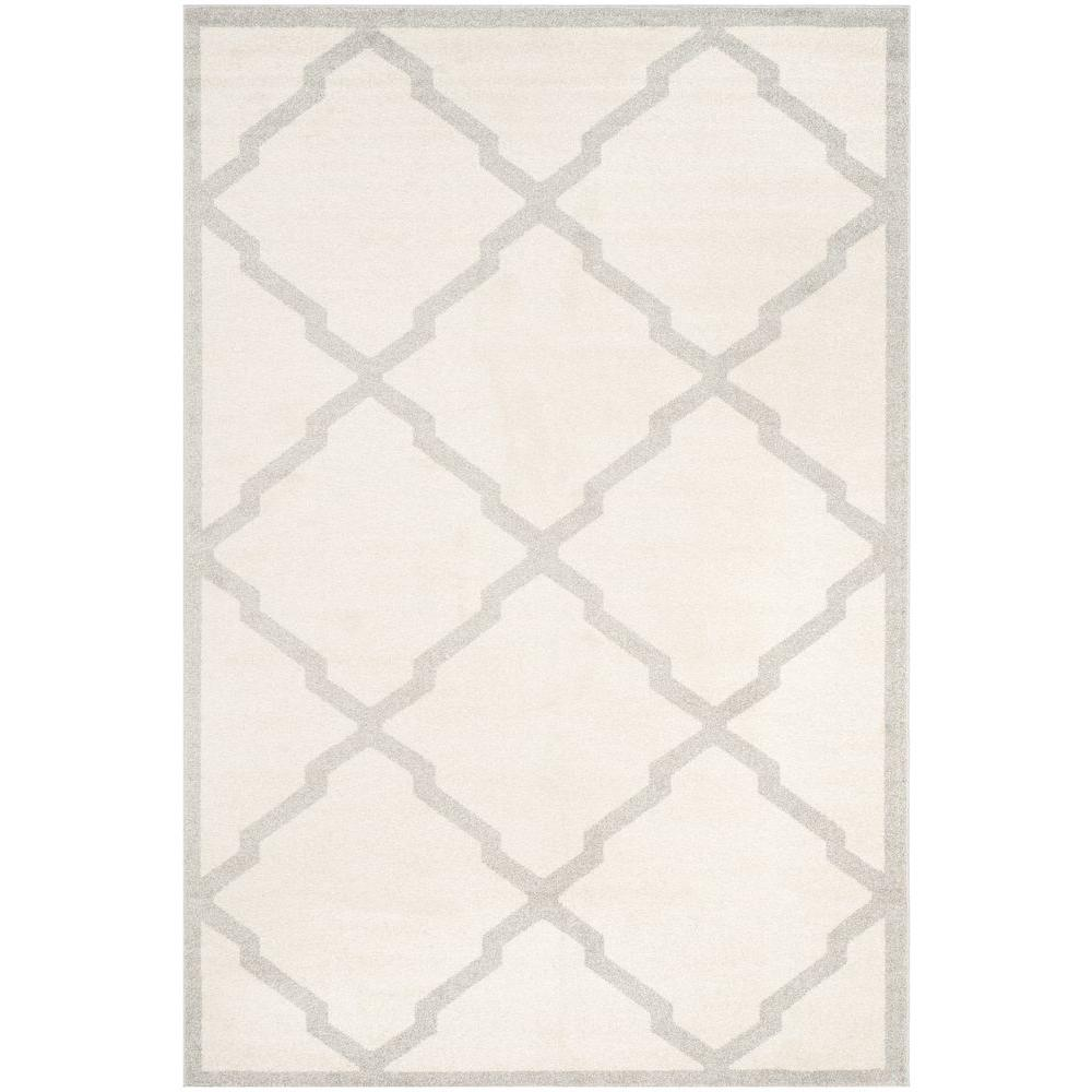 Safavieh Amherst Beige/Light Gray 6 ft. x 9 ft. Indoor/Outdoor Area Rug