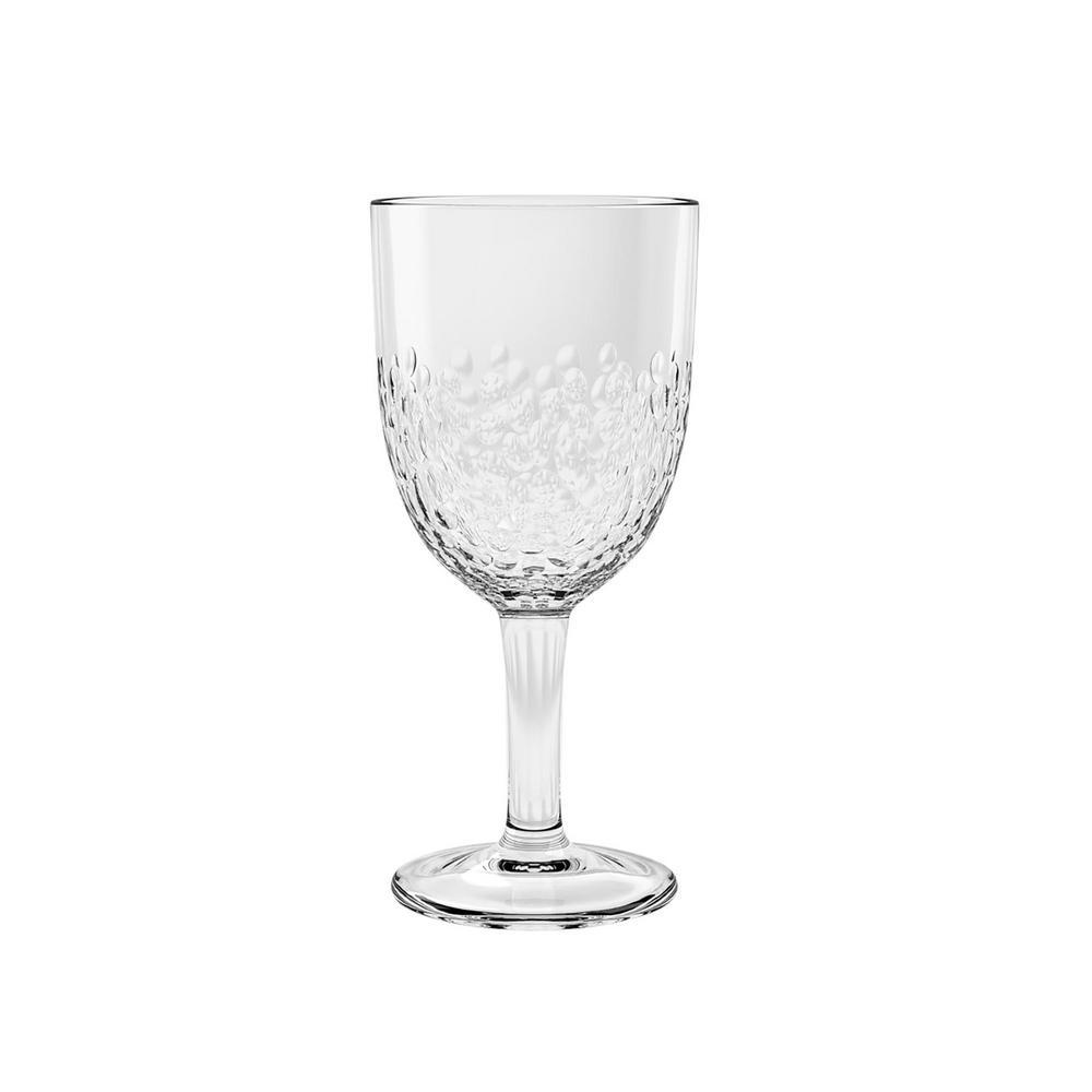 14.8 oz. 6-Piece Cabo Clear Acrylic Wine Glass Set