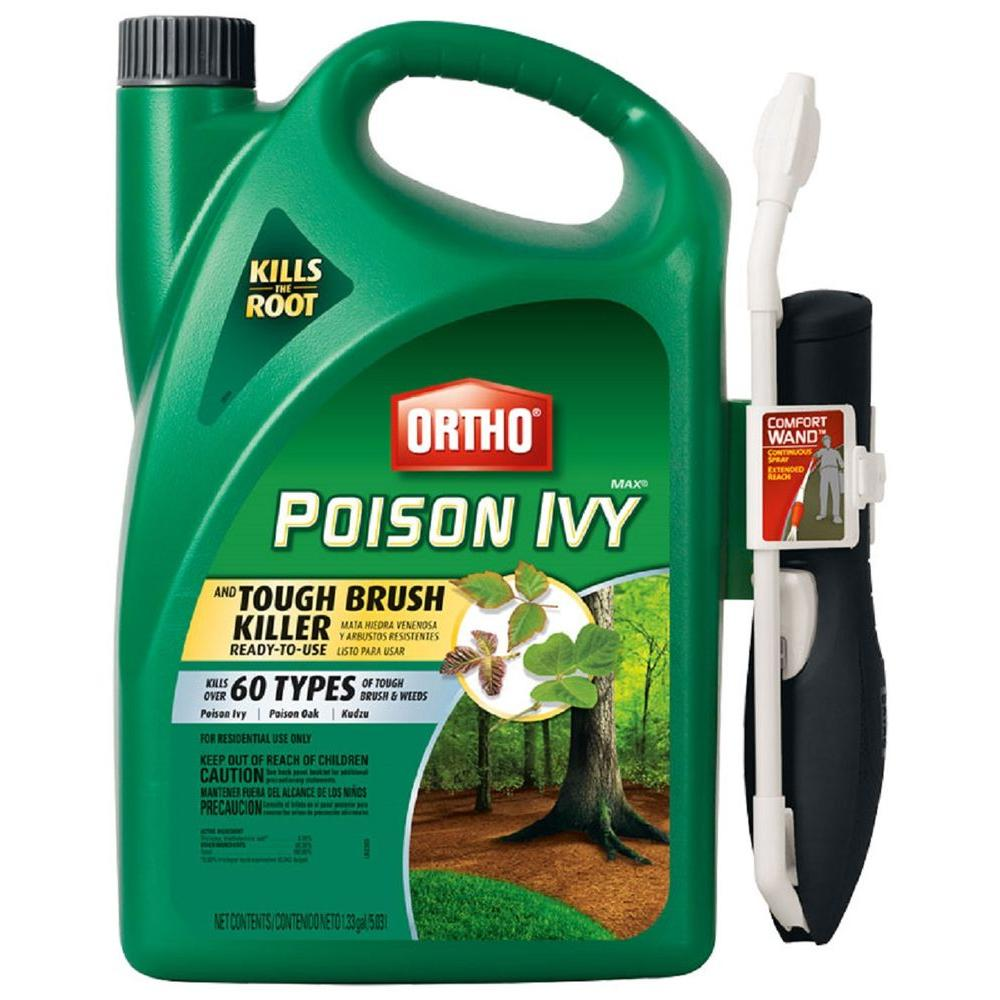 Max Poison Ivy and Tough Brush Killer 1.33 Gal. Comfort Wand