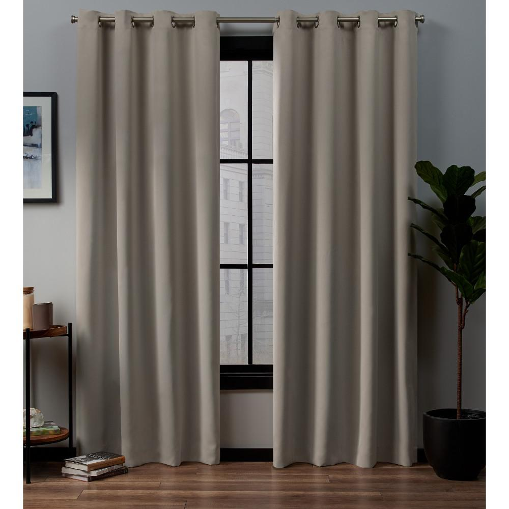 Exclusive Home Curtains Academy 52 In. W X 84 In. L Woven