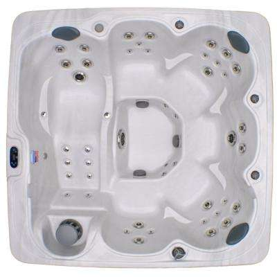 Home and Garden 6 Person 71 Jet Spa with Stainless Jets and Ozone Included