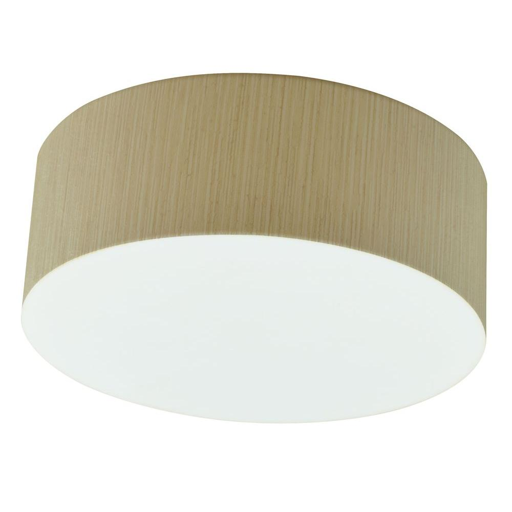 Radionic Hi Tech Orly 2-Light Satin Nickel Flushmount