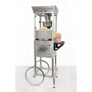 Nostalgia Vintage 6 oz. Popcorn Machine and Cart by Nostalgia