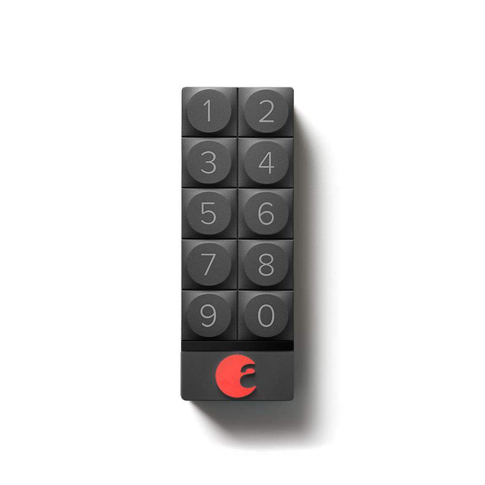 August Smart Keypad Dark Gray Aug Ak01 M01 G01 The Home