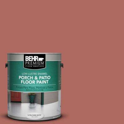 1 gal. #PPU2-13 Colonial Brick Low-Lustre Porch and Patio Floor Paint