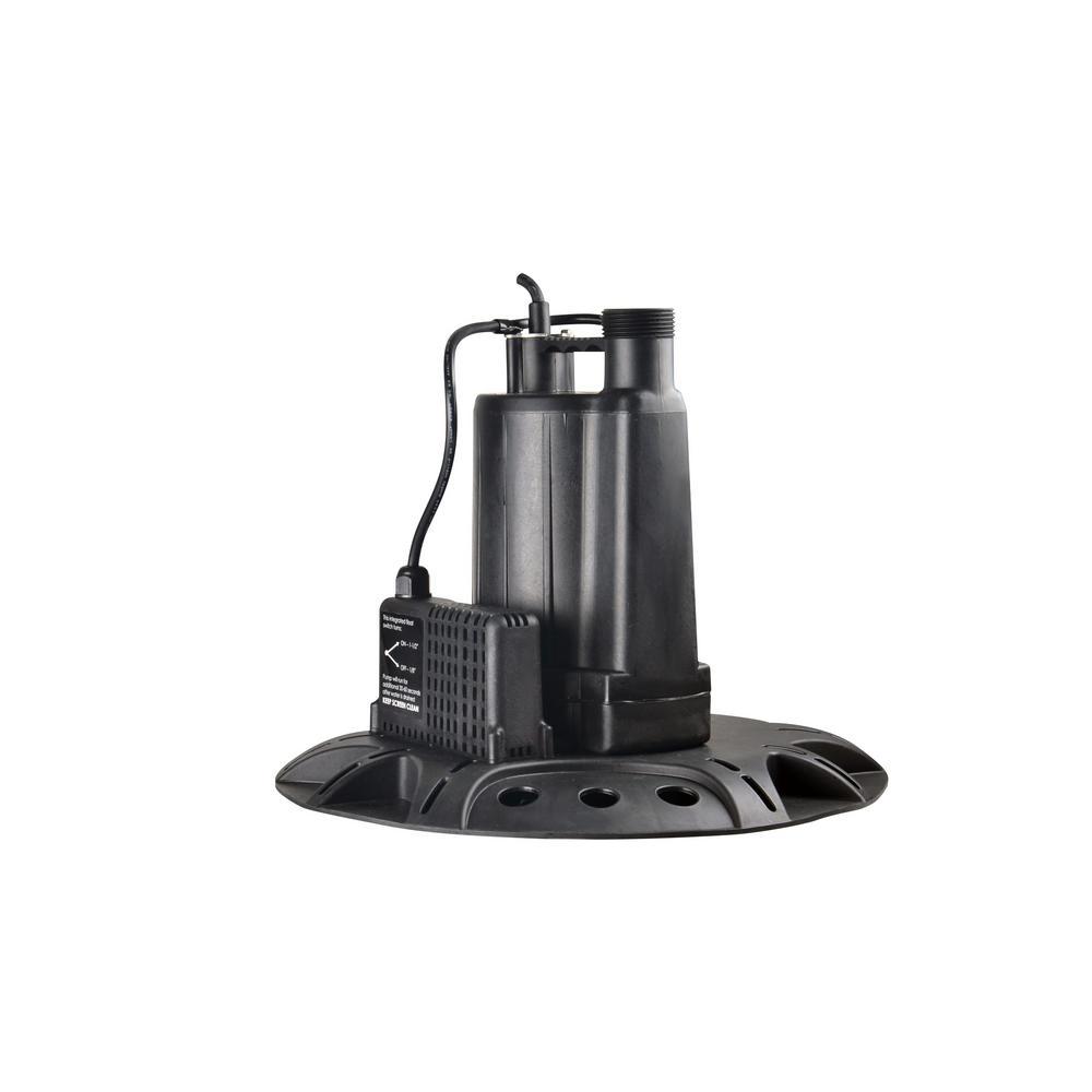 Everbilt 1/4 HP Pool Cover Pump