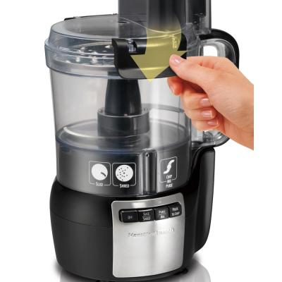 Hamilton Beach-Stack and Snap 10-Cup 3-Speed Black Food Processor