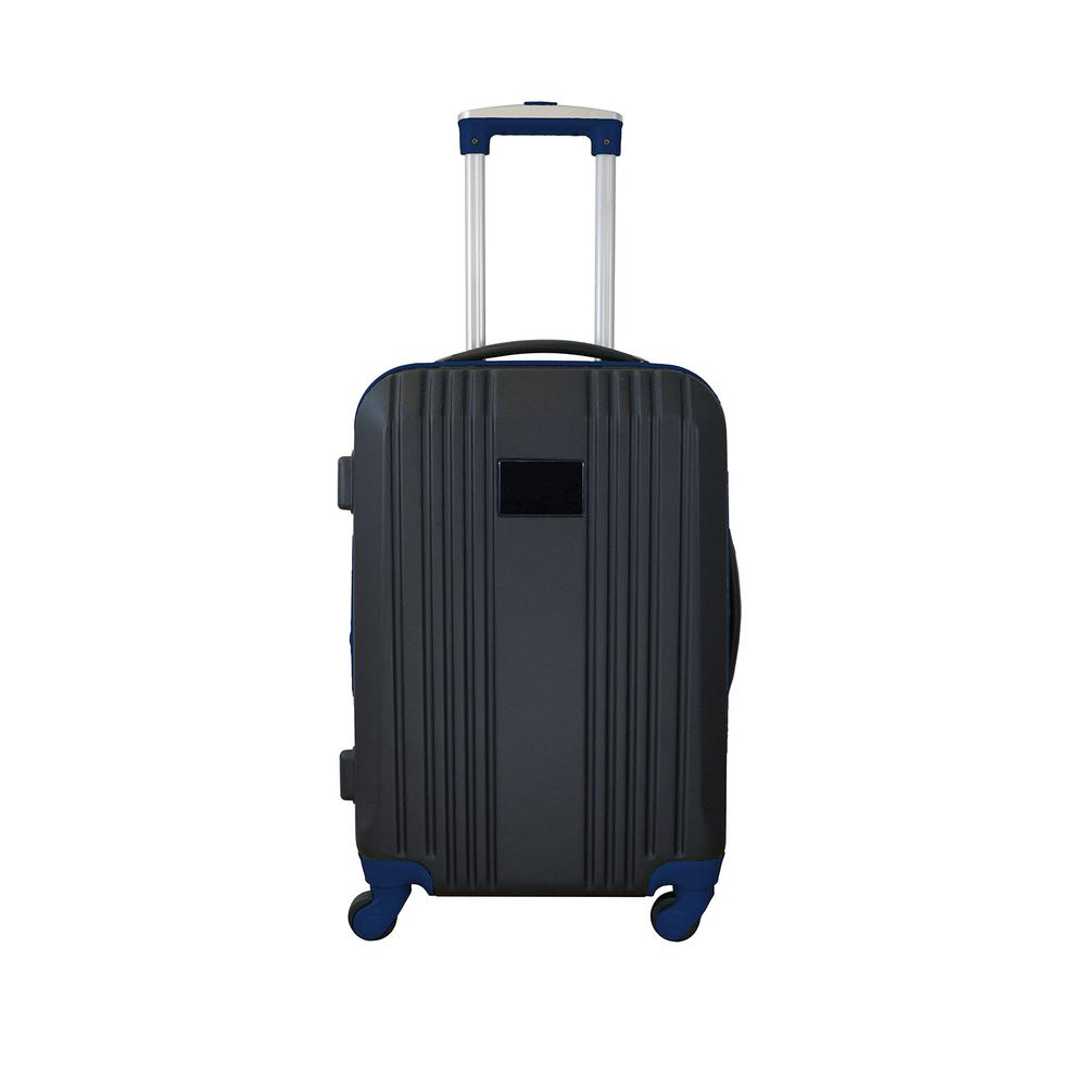 Carry-On Hardcase 21 in. Navy Dual Color Expandable Spinner