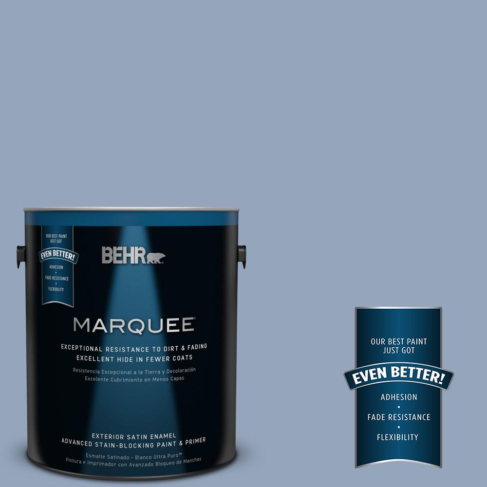 BEHR MARQUEE 1-gal. #580F-4 River Valley Satin Enamel Exterior Paint