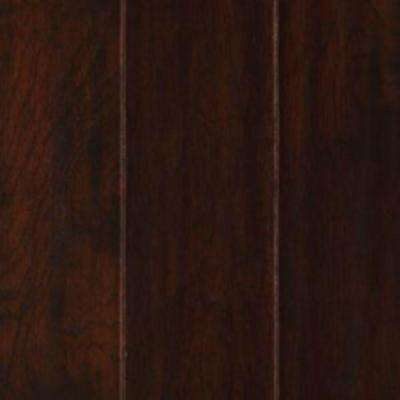 Take Home Sample - Chocolate Hickory Engineered UNICLIC Hardwood Flooring - 5 in. x 7 in.