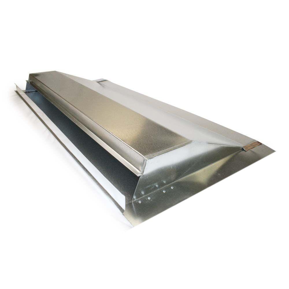 Master Flow 10 ft  Aluminum Ridge Vent in Black-AR10BL - The