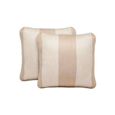 Northshore Regency Wren Outdoor Throw Pillow (2-Pack)
