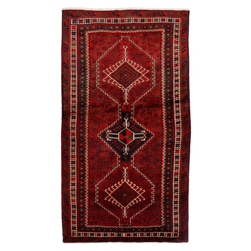 darya rugs authentic red 3 ft 11 in x 7 ft 5 in indoor. Black Bedroom Furniture Sets. Home Design Ideas