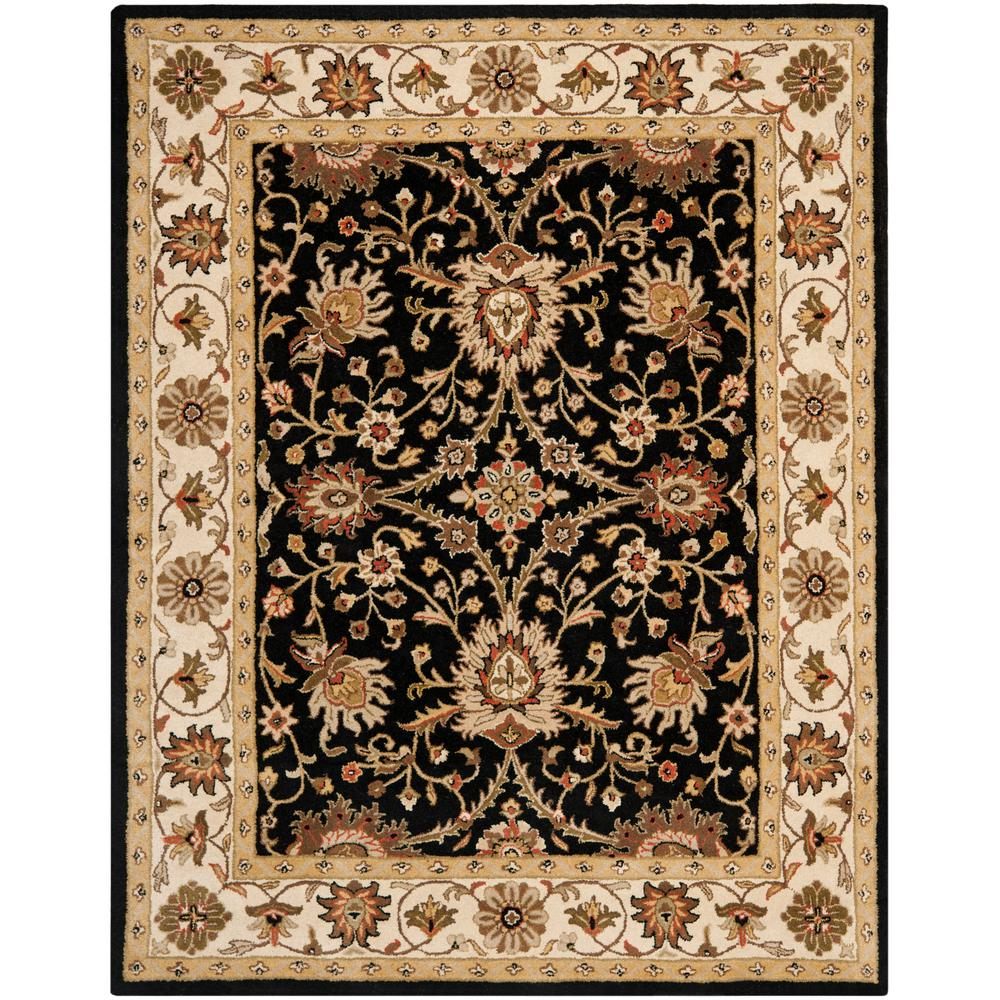 Safavieh Antiquity Black 6 Ft X 9 Ft Area Rug At249b 6