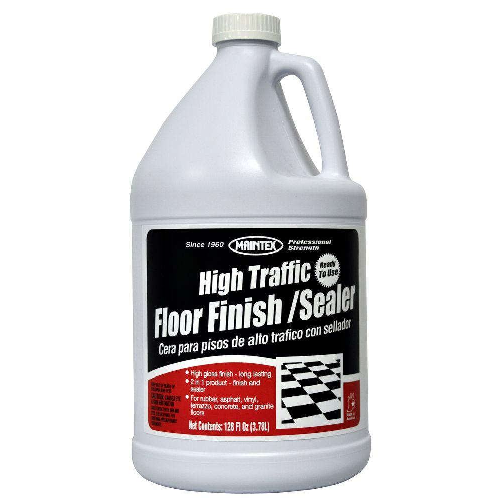 Maintex 1 gal. High Traffic Floor Finish and Sealer (Case of 4)