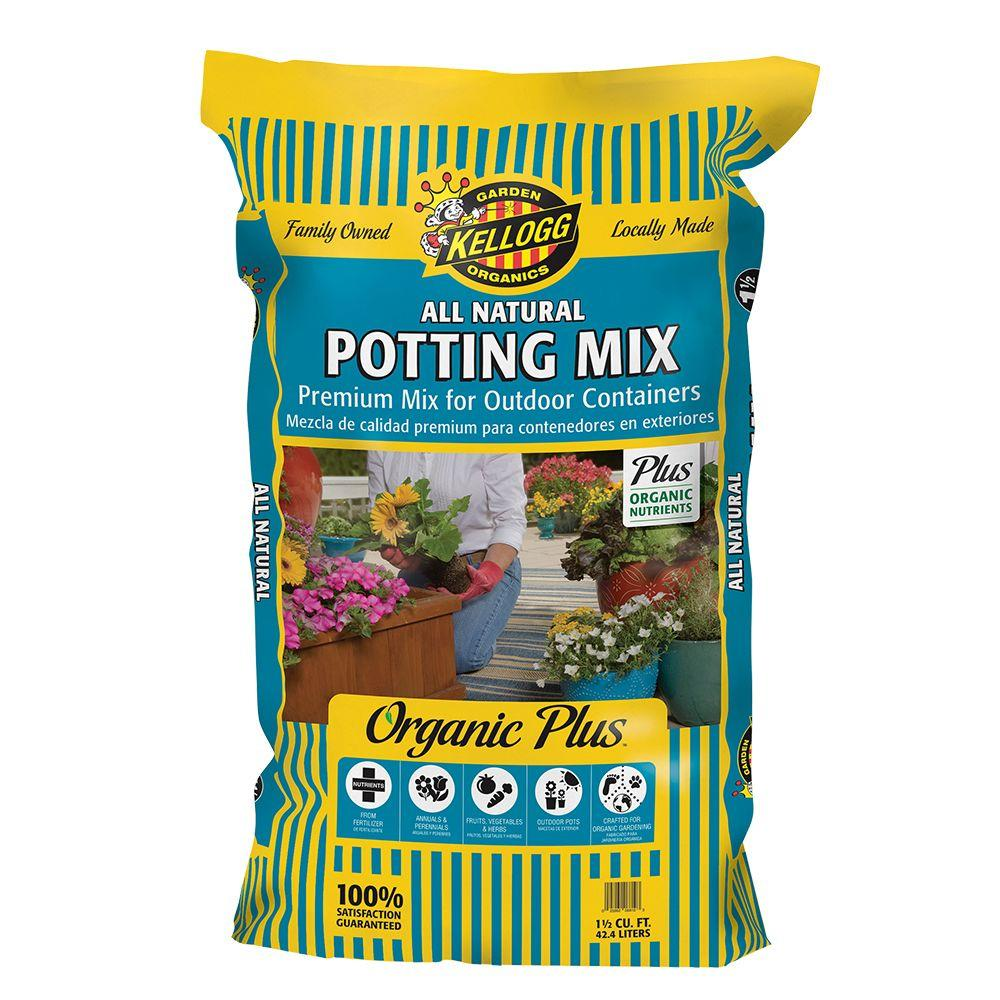 1.5 cu. ft. All Natural Premium Outdoor Potting Mix