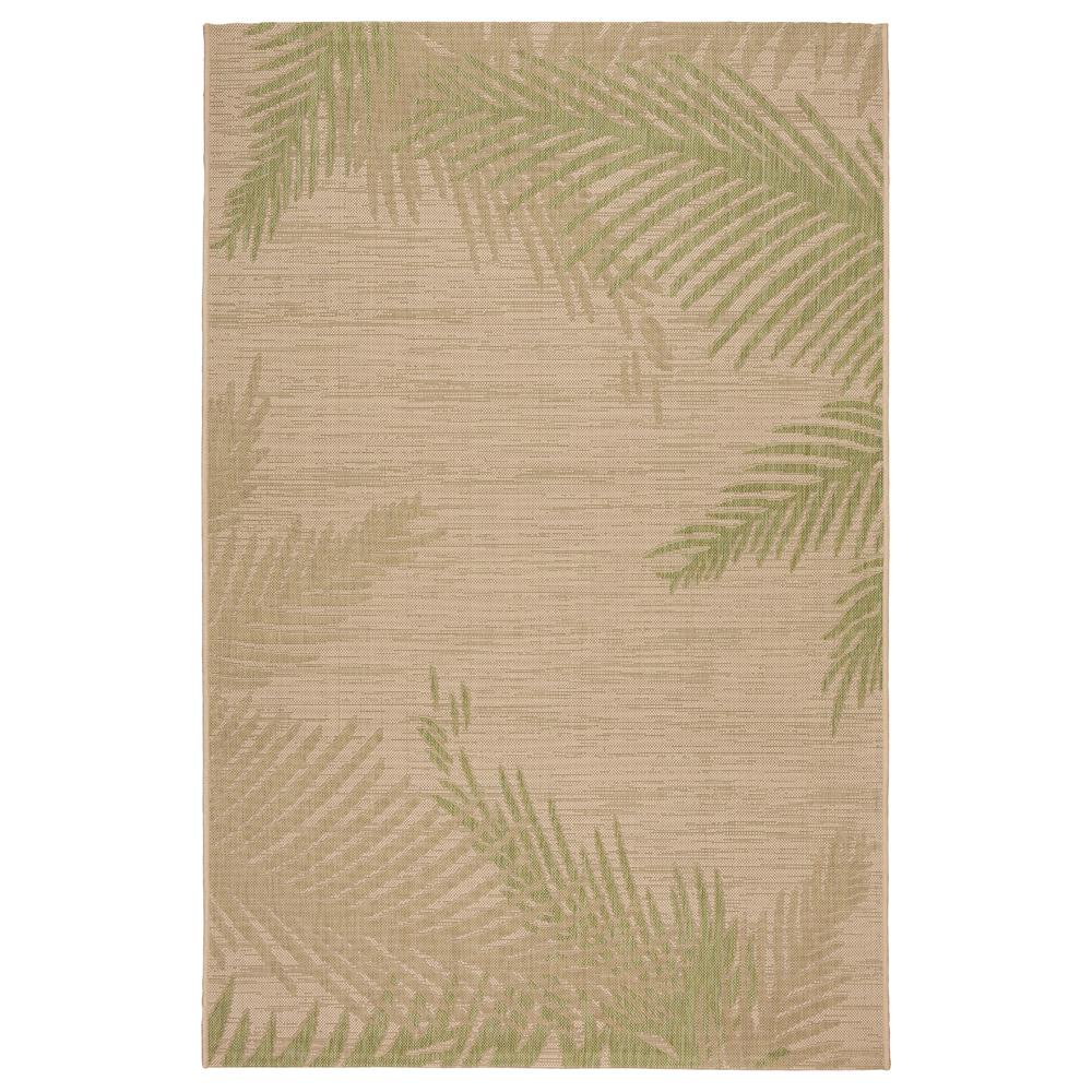 Lr Resources Captiva Beige Soft Pea 8 Ft X 9 Rectangle Indoor