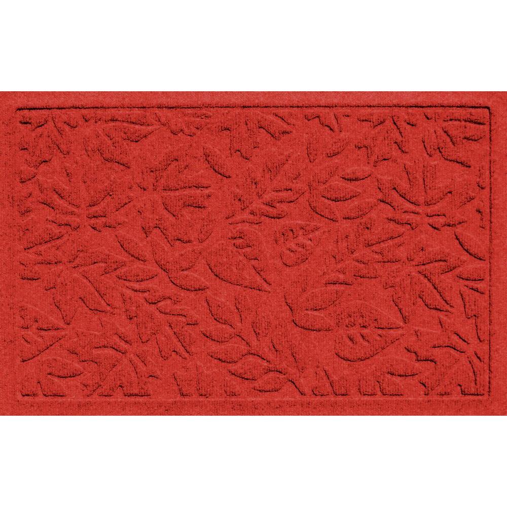 Aqua Shield Fall Day Red 17.5 in. x 26.5 in. Door
