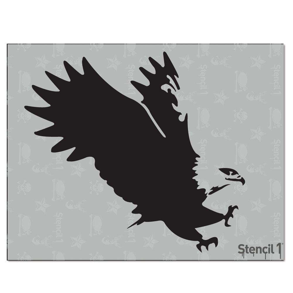 Stencil1 Eagle Stencil-S1_01_04 - The Home Depot