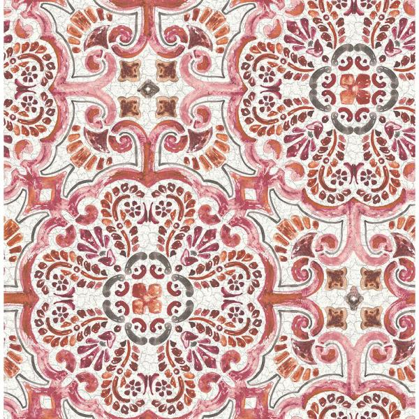 Pink Tile Wallpaper 2540 24043