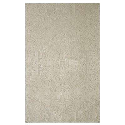 Francesca Cream 5 ft. x 8 ft. Indoor Area Rug