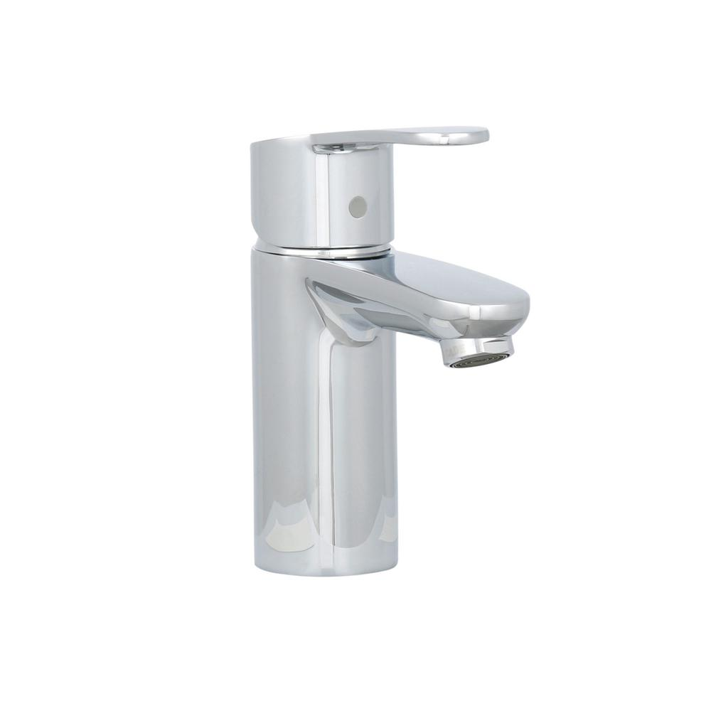grohe eurostyle single hole single handle lowarc bathroom faucet in starlight chrome