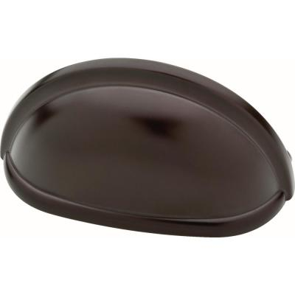 Essentials Farmhouse 3 in. (76mm) Center-to-Center Dark Oil Rubbed Bronze Bin Drawer Pull (10-Pack)