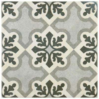 Vintage Ruzafa 9-3/4 in. x 9-3/4 in. Porcelain Floor and Wall Tile (10.76 sq. ft. / case)