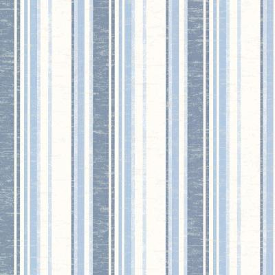 Belfast Ocean Galop Stripe Wallpaper Sample