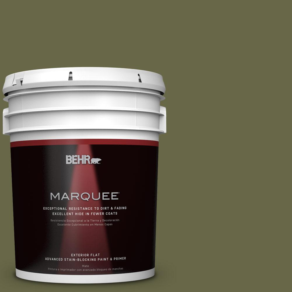5-gal. #PPU9-24 Amazon Jungle Flat Exterior Paint