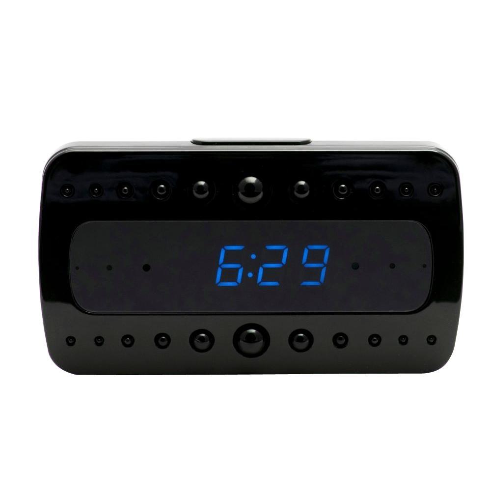 Mini Gadgets Wi-Fi Hidden Camera Clock