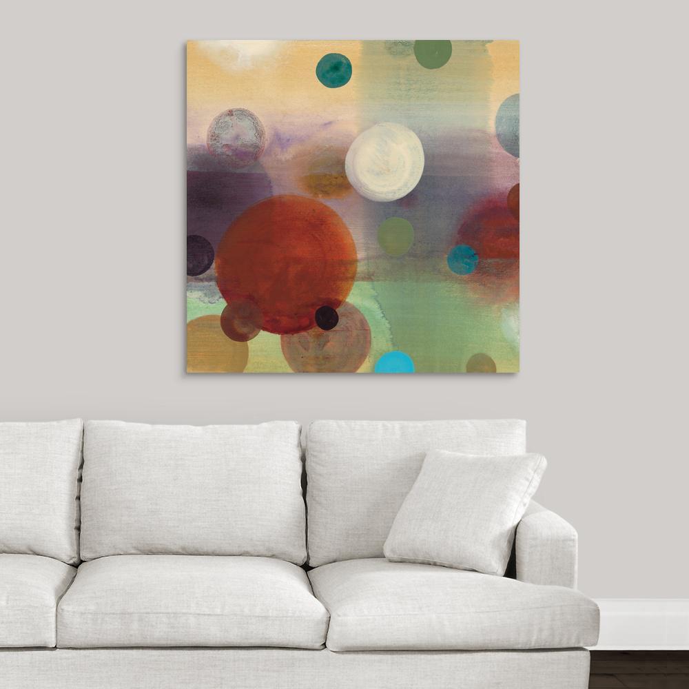 GreatBigCanvas ''Circle Dreams II'' by Selina Werbelow Canvas Wall Art
