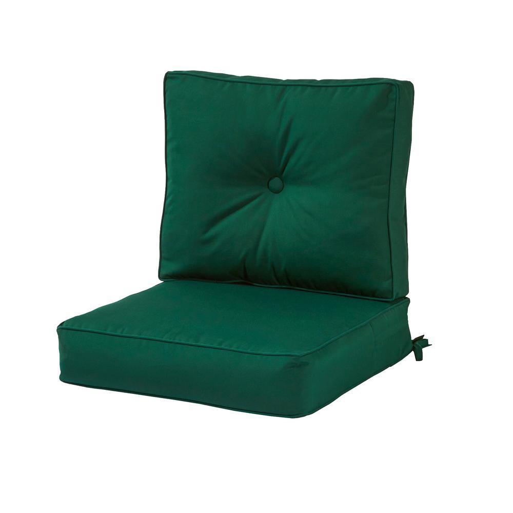 Sunbrella Forest 2-Piece Deep Seating Outdoor Lounge Chair Cushion Set
