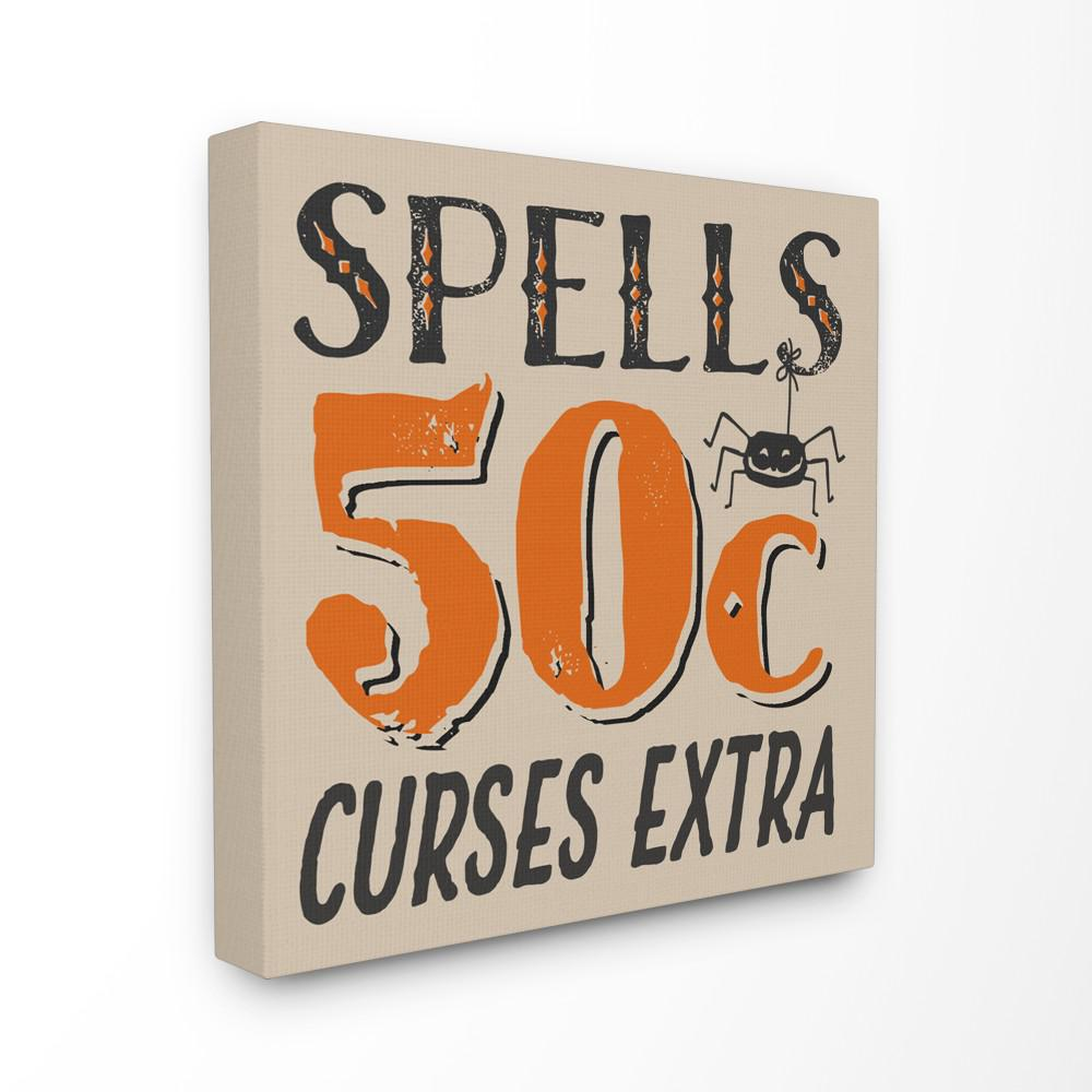 the stupell home decor collection 17 in x 17 in spells for sale