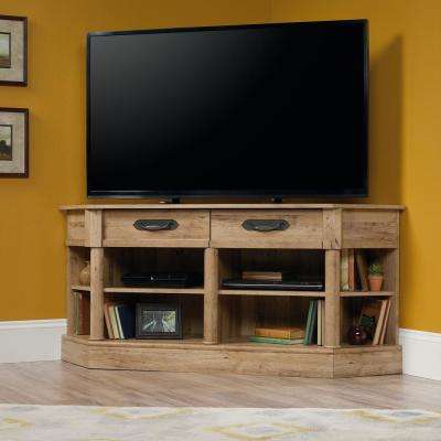 Viabella Collection Antigua Chestnut Corner Entertainment Credenza