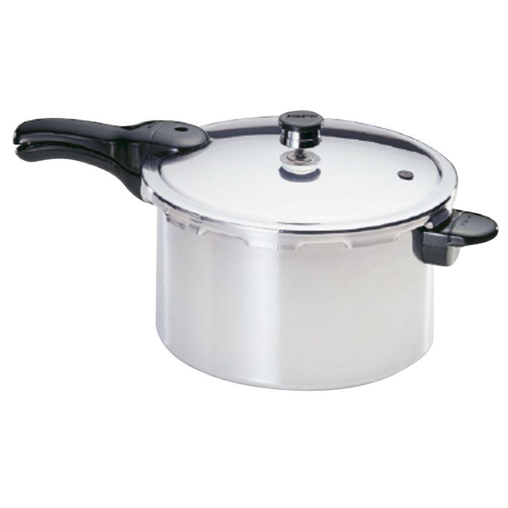 Presto 8 Qt Aluminum Pressure Cooker 01282 The Home Depot