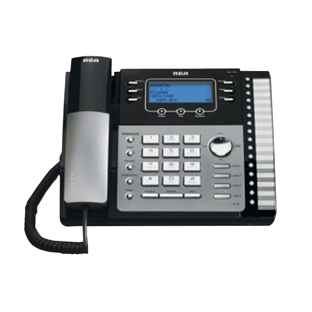 RCA 4-Line Expandable Speakerphone with Itad