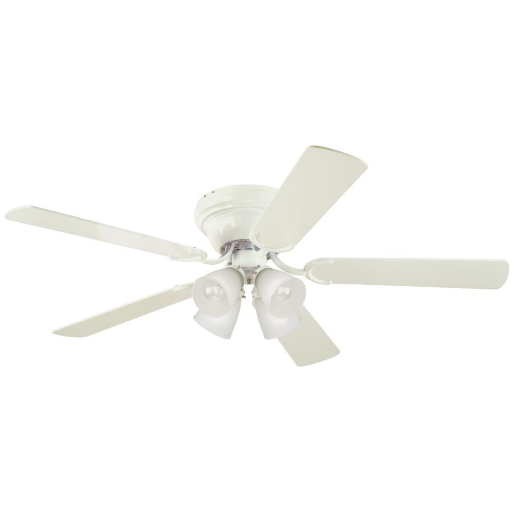 Contempra IV 52 in. White Ceiling Fan