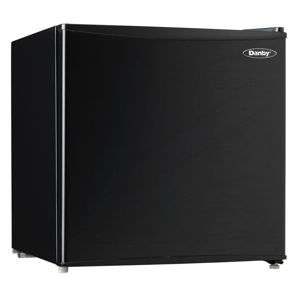 Danby 1.7 cu. ft. Mini Refrigerator in Black