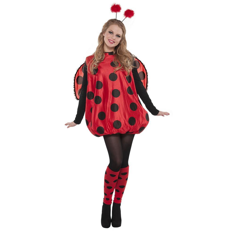 amscan womens darling ladybug halloween costume standard-841874
