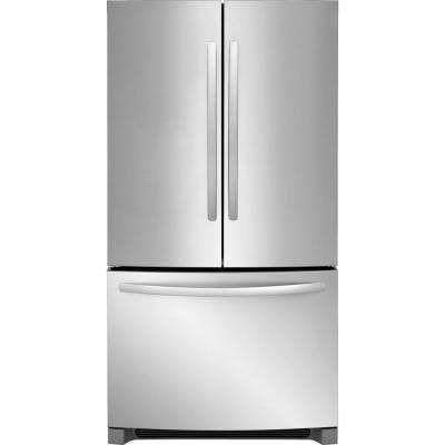 22.4 cu. ft. French Door Refrigerator in Stainless Steel, Counter Depth