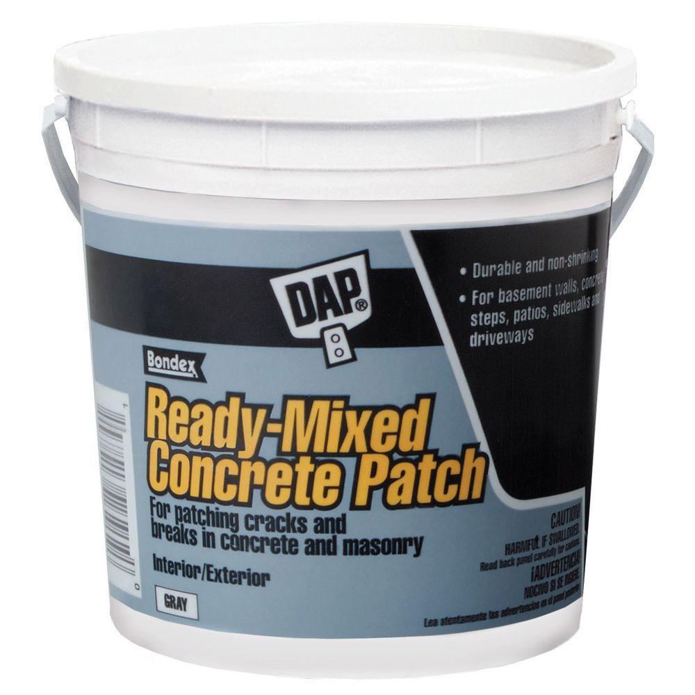 Gray Ready Mixed Concrete Patch