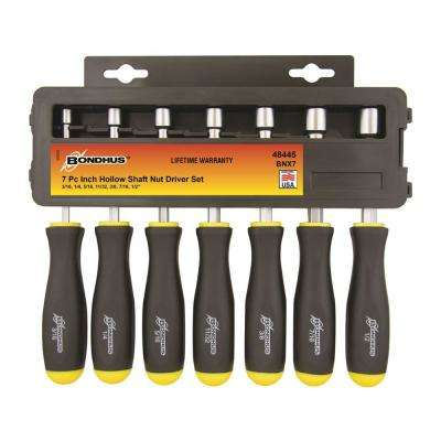 Standard Hollow Shaft Nut Driver Set (7-Piece)