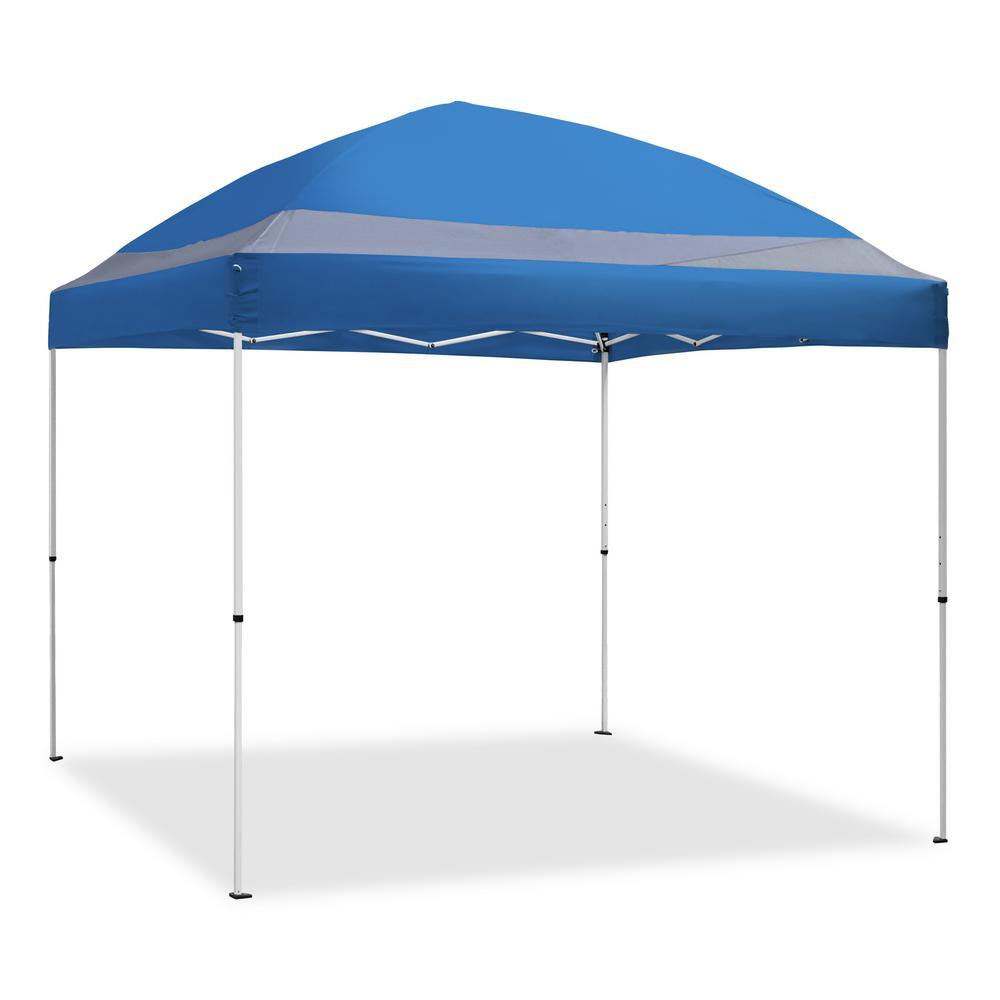 Caravan Canopy ArchBreeze 10 ft. x 10 ft. Blue Straight Leg Instant Canopy-ARC10020 - The Home Depot  sc 1 st  Home Depot & Caravan Canopy ArchBreeze 10 ft. x 10 ft. Blue Straight Leg ...
