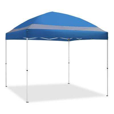 ArchBreeze 10 ft. x 10 ft. Blue Straight Leg Instant Canopy