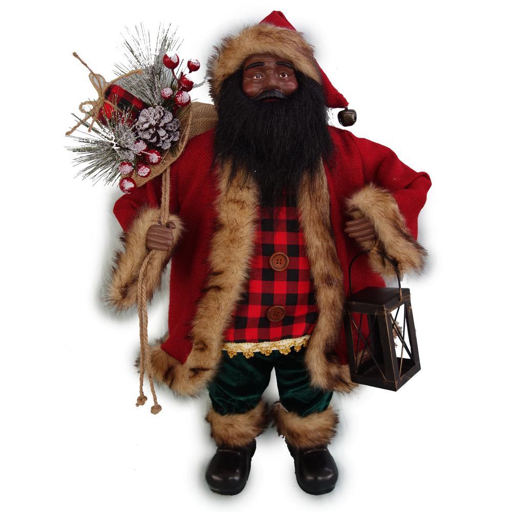 24 in. A/F Fabric Santa