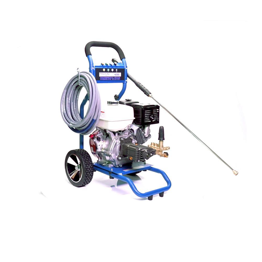 Dirt Laser 4200 PSI 4.0 GPM Gas Cold Water Pressure Washer Honda Engine